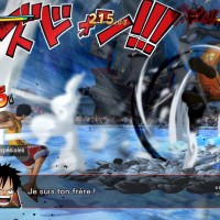 One Piece Burning Blood Luffy se bat contre Moria