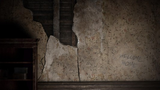 Resident Evil 7 Teaser: Beginning Hour écran de chargement mur Welcome Home