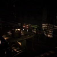 Resident Evil 7 - Beginning Hour cuisine avec plat abandonné