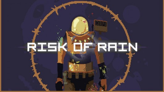 Risk of Rain Logo Band of Geeks