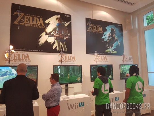 Stand Zelda Breath of the Wild Band of Geeks