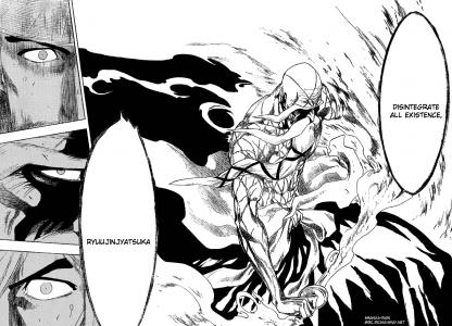Yamamoto Genryuusai Shikai Bleach