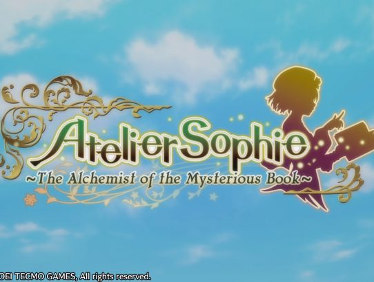 Test Atelier Sophie : The Alchemist of the Mysterious Book [PS4]