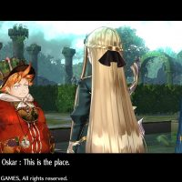 Atelier Sophie : The Alchemist of the Mysterious Book Oskar discute avec Sophie