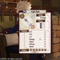 Atelier Sophie : The Alchemist of the Mysterious Book une épée a été créée pour Julio