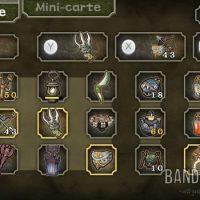 The Legend of Zelda - Twilight Princess HD inventaire sur le gamepad