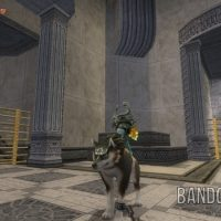 Twilight Princess HD Link-loup et Midona dans un temple
