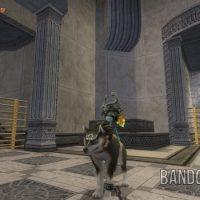 Twilight Princess HD Link-loup et Midona dans un temple