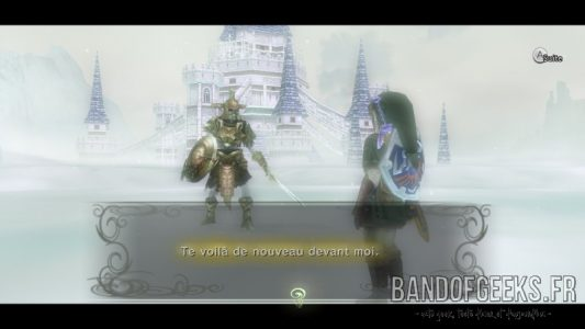 Twilight Princess HD Link s'entraine