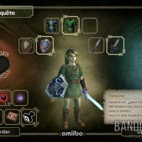 The Legend of Zelda - Twilight Princess HD écran de l'inventaire