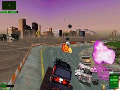 Twisted Metal 2 Hammerhead tire sur Sweet Tooth