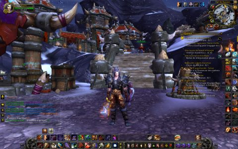World of Warcraft Ryuzen dans son fief