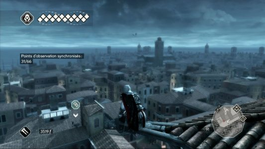 Assassin's Creed II Ezio sur un point d'observation