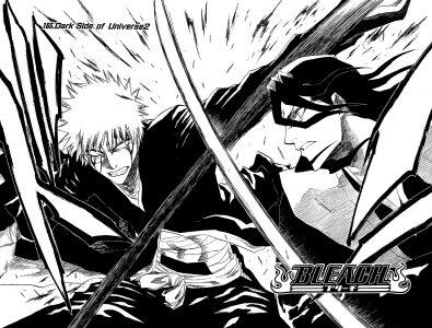 Bleach Ichigo et Byakuya s'affrontent
