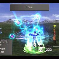 Final Fantasy VIII Squall vole une magie à l'ennemi