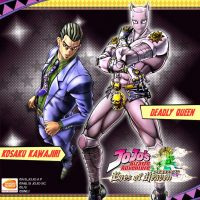 Kira Yoshikage Killer Queen JoJo s Bizarre Adventure Eyes of Heaven Band of Geeks