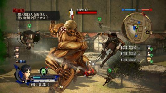L'Attaque des Titans Eren affronte un Titan