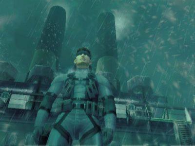 Metal Gear Solid 2 Snake sous la pluie