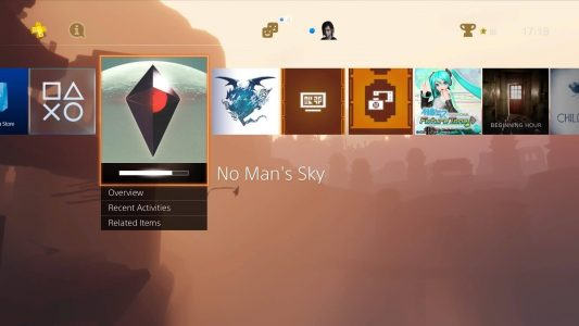 No Man's Sky Alexandre Dashboard Ps4 Band of Geeks