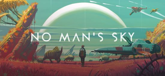 No Man's Sky Logo Band of Geeks
