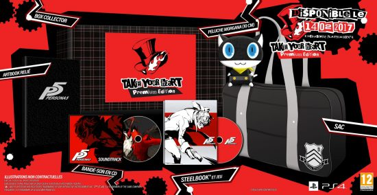 Persona 5 Edition Collector Band of Geeks