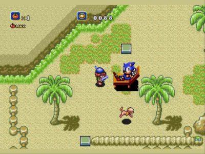 Soleil Sonic à la plage
