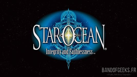 Star Ocean - Integrity and Faithlessness écran titre et logo