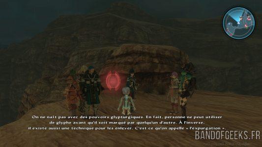 Star Ocean - Integrity and Faithlessness l'équipe de héros discute de l'expurgation