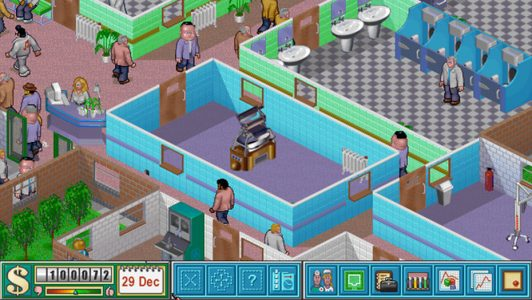 Theme Hospital patients