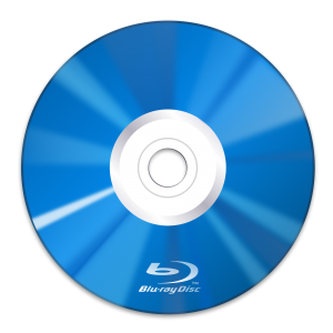 Blu-Ray avec le logo
