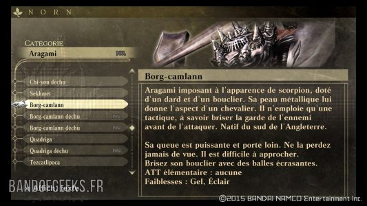 Borg-camlann God Eater Resurrection Guide débutants Band of Geeks