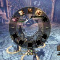 Dragon Age Origins roue pour sélectionner une attaque