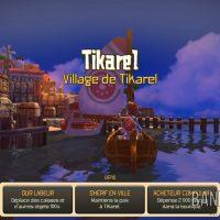 Oceanhorn - Monster of Uncharted Seas arrivée au village de Tikarel