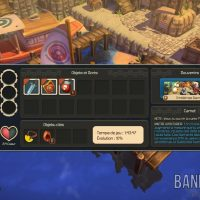 Oceanhorn - Monster of Uncharted Seas menu inventaire