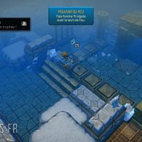 Oceanhorn - Monster of Uncharted Seas temple de glace trophée brûler 15 objets