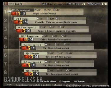 Recette balle HDH Kai God Eater Resurrection Guide débutants Band of Geeks