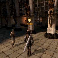 Dragon Age II Hawke avance vers Gamlen