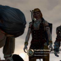 Dragon Age II discussion entre Aveline, Hawke et sa mère