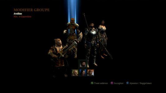 Dragon Age II choix de l'équipe