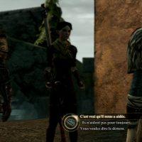 Dragon Age II Merril discute avec Hawke