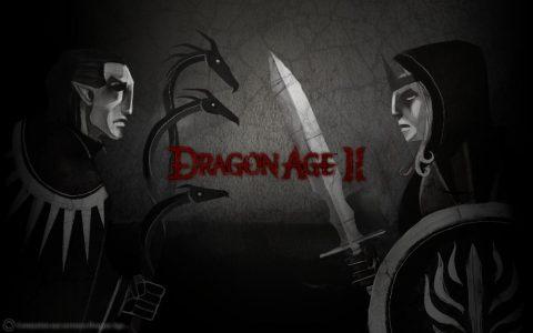 Dragon Age II écran titre