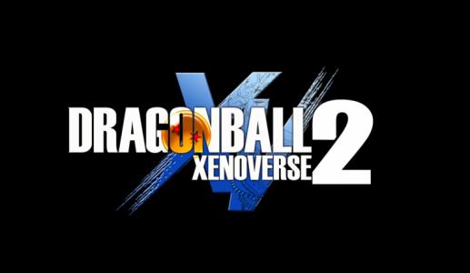 Dragon Ball Xenoverse 2 Logo sur fond noir