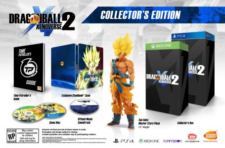 Dragon Ball Xenoverse 2 édition collector