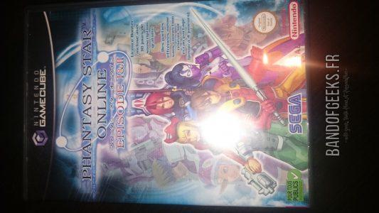 Journal Nostalgie Phantasy Star online jeu GameCube