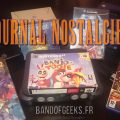 Journal Nostalgie Logo plus consoles