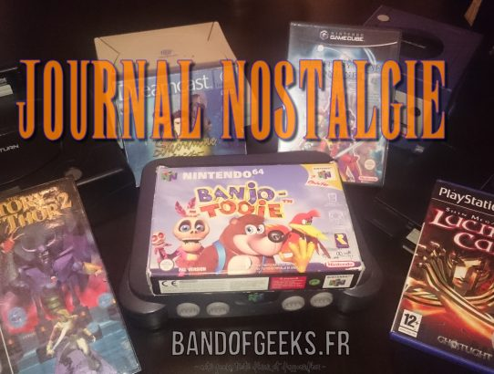 Journal Nostalgie Logo plus consoles