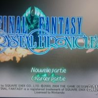 Journal Nostalgie écran titre Final Fantasy Crystal Chronicles
