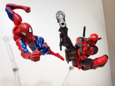 spider-man-deadpool-revoltech-yamaguchi