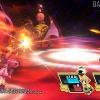 World of Final Fantasy attaque de flammes sur les héros