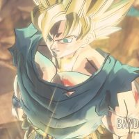 Dragon Ball Xenoverse 2 Son Goku vient de se transformer en Super Saiyen